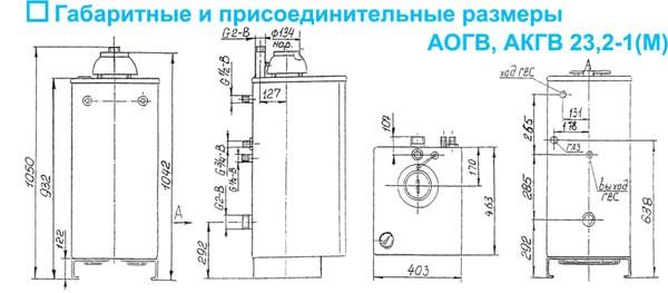 аогв инструкция по установке - фото 4